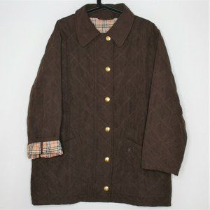 VTG Burberrys Burberry Plaid Lined Jacket N339